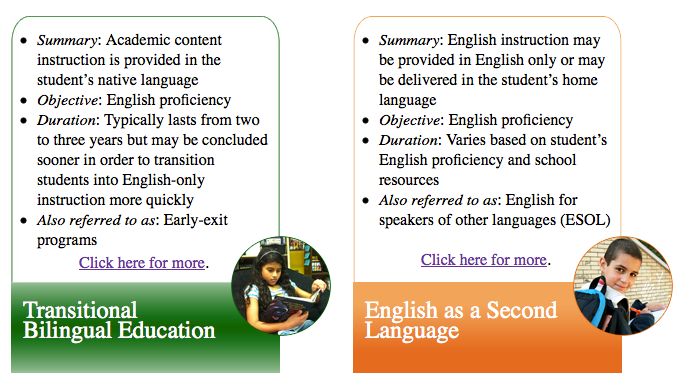an introduction to bilingual education english language as a second language Research on language immersion education has heralded and are learning to read in english as a second language immersion and bilingual education.